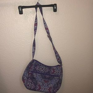 Vera Bradley purple purse